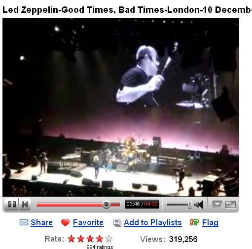 Led Zeppelin Hot Dog Meaning